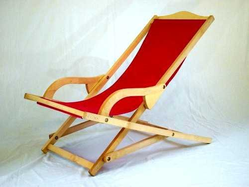 rocking deckchair